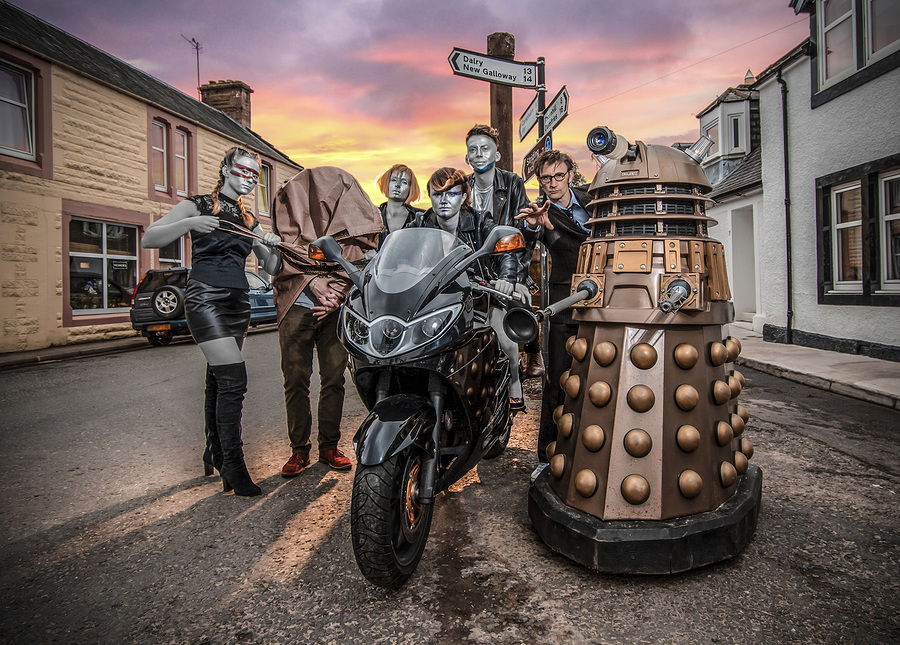 Dr Who and the Androids of Moniaive Comic Festival / Photography by Kim Ayres / Uploaded 3rd October 2019 @ 11:54 PM