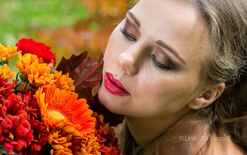 YuliaT Autumn Flowers / Photography by Mike Allwood, Makeup by Emily Ray / Uploaded 23rd October 2016 @ 09:43 PM