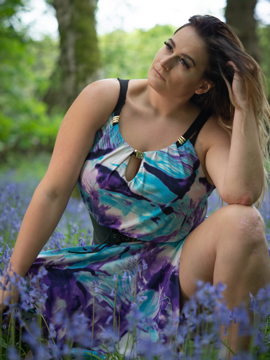 Bluebell dreams / Photography by Bob @ Fatbloke, Model Beltbum, Makeup by Beltbum / Uploaded 31st May 2019 @ 09:46 AM