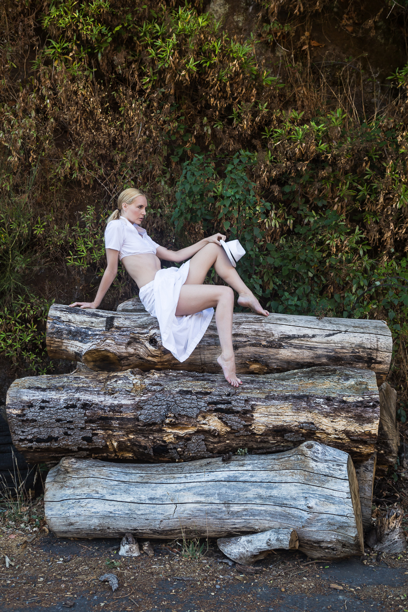 The log pile / Photography by Lakeside Images, Model Joceline/Ariel Anderssen / Uploaded 4th February 2018 @ 09:58 AM