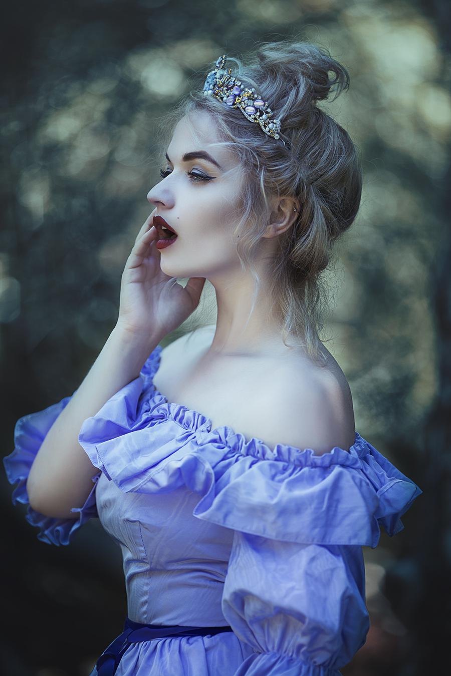 Carribean Blue / Photography by Anjelica Hyde, Model Jessica Megan / Uploaded 1st November 2017 @ 03:17 PM