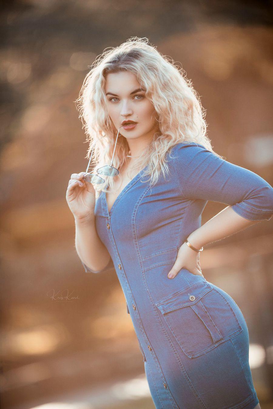Denim Blues / Model Jessica Megan / Uploaded 23rd February 2018 @ 08:42 AM