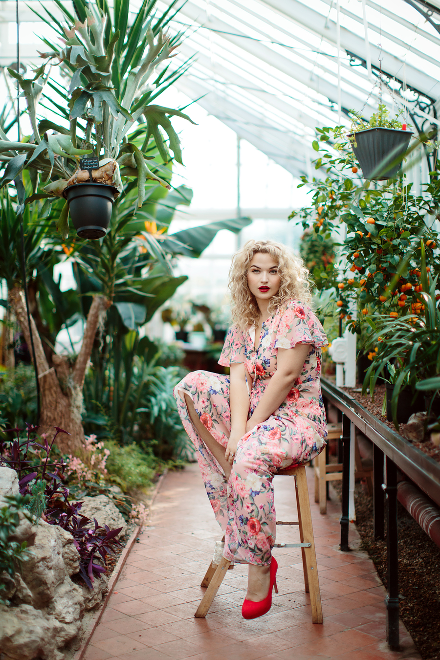 The Greenhouse / Photography by Sarah Ann Wright, Model Jessica Megan / Uploaded 10th May 2019 @ 11:43 AM