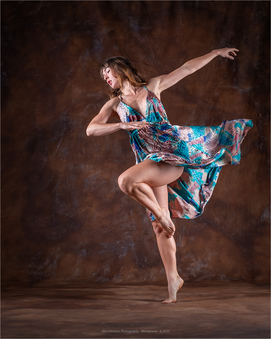 Dancing With Ella / Photography by Wavepower, Model Rebecca Ray, Makeup by Rebecca Ray, Taken at Inspire Studios Ltd / Uploaded 15th January 2021 @ 07:00 PM