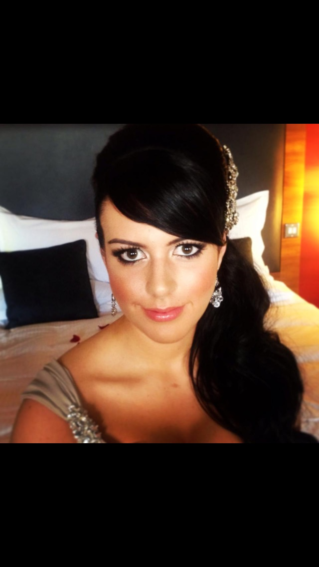 Stunning bridesmaid / Makeup by Louise McCarthy Makeup / Uploaded 10th September 2015 @ 07:46 AM