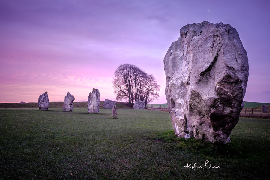 Sunrise at the Avebury Stone Circle / Photography by Kelvin Brain - Mill-Lodge Brecon Beacons, Post processing by Kelvin Brain - Mill-Lodge Brecon Beacons / Uploaded 24th December 2016 @ 11:23 AM