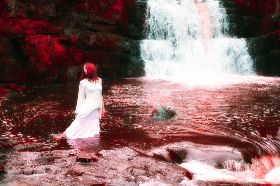 The Lady of Blood Falls / Photography by Kelvin Brain - Mill-Lodge Brecon Beacons, Post processing by Kelvin Brain - Mill-Lodge Brecon Beacons / Uploaded 6th March 2017 @ 05:24 PM