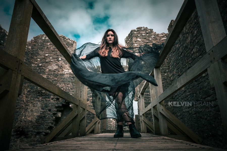 Fortress in the sky / Photography by Kelvin Brain - Mill-Lodge Brecon Beacons, Model ModelMaya, Post processing by Kelvin Brain - Mill-Lodge Brecon Beacons / Uploaded 15th April 2017 @ 02:23 PM