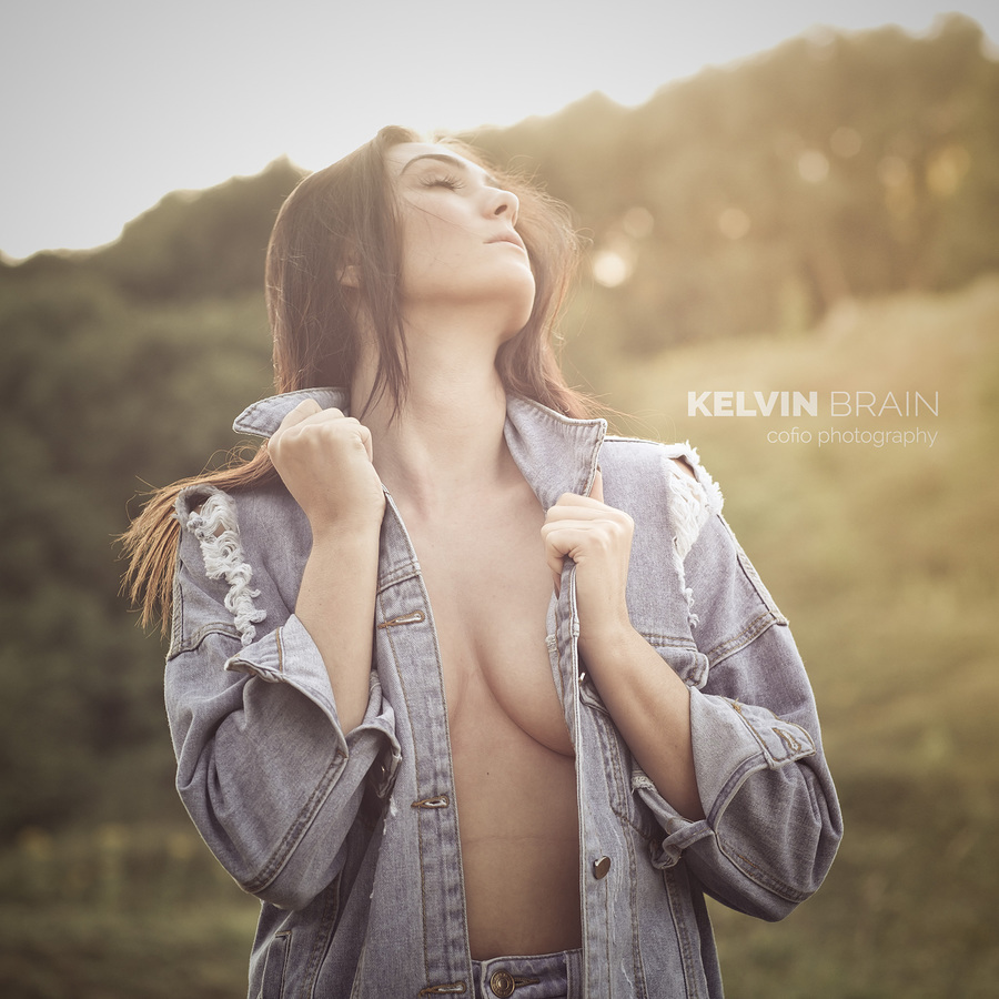 Summertime Blues / Photography by Kelvin Brain - Mill-Lodge Brecon Beacons, Model Stephanie Venn, Post processing by Kelvin Brain - Mill-Lodge Brecon Beacons / Uploaded 27th July 2017 @ 05:09 AM