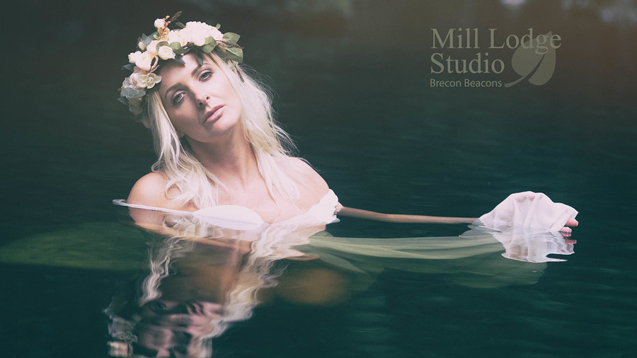 River Nymph / Photography by Kelvin Brain - Mill-Lodge Brecon Beacons, Model Bella Raye, Makeup by Bella Raye, Post processing by Kelvin Brain - Mill-Lodge Brecon Beacons, Taken at Kelvin Brain - Mill-Lodge Brecon Beacons, Hair styling by Bella Raye / Uploaded 5th July 2018 @ 11:05 AM